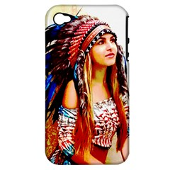 Indian 22 Apple Iphone 4/4s Hardshell Case (pc+silicone) by indianwarrior
