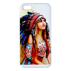 Indian 22 Apple Iphone 5 Premium Hardshell Case by indianwarrior