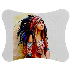 Indian 22 Jigsaw Puzzle Photo Stand (Bow) by indianwarrior