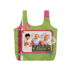 Baby By Baby   Full Print Recycle Bag (s)   542hnm6iu9jx   Www Artscow Com Front