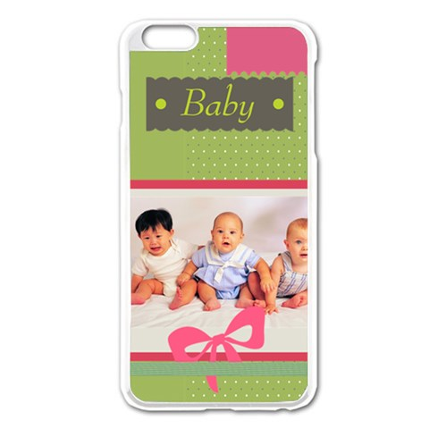 Baby By Baby   Apple Iphone 6 Plus/6s Plus Enamel White Case   U9bw3nhtkwj2   Www Artscow Com Front