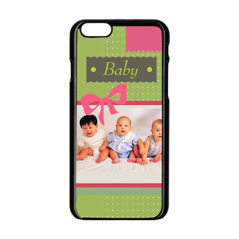 Baby By Baby   Apple Iphone 6/6s Black Enamel Case   F1nfy8oeuzv3   Www Artscow Com Front