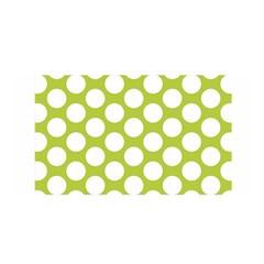 Spring Green Polkadot Satin Wrap by Zandiepants