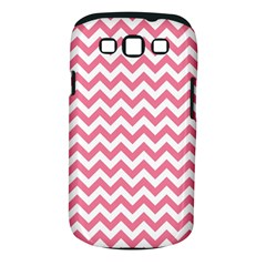 Pink And White Zigzag Samsung Galaxy S Iii Classic Hardshell Case (pc+silicone) by Zandiepants