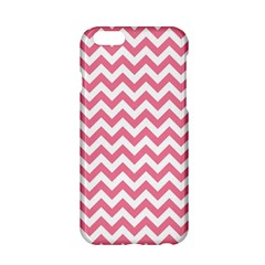 Pink And White Zigzag Apple Iphone 6/6s Hardshell Case by Zandiepants