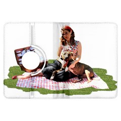 Pittie Picnic 2011 Kindle Fire Hdx Flip 360 Case by ButThePitBull