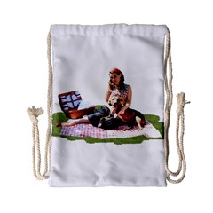 Pittie Picnic 2011 Drawstring Bag (small) by ButThePitBull