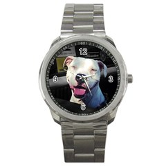 Smile Sport Metal Watch by ButThePitBull