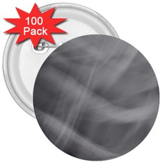 Gray Fog 3  Buttons (100 Pack)  by timelessartoncanvas