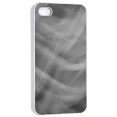Gray Fog Apple Iphone 4/4s Seamless Case (white) by timelessartoncanvas
