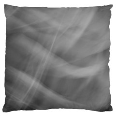 Gray Fog Standard Flano Cushion Case (one Side) by timelessartoncanvas
