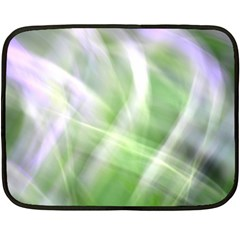 Green And Purple Fog Double Sided Fleece Blanket (mini)  by timelessartoncanvas