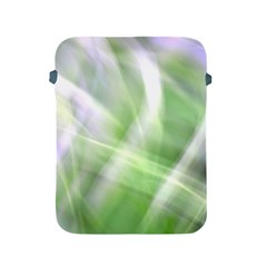 Green And Purple Fog Apple Ipad 2/3/4 Protective Soft Cases by timelessartoncanvas