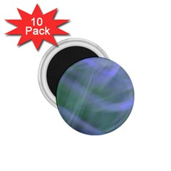 Purple Fog 1 75  Magnets (10 Pack)  by timelessartoncanvas
