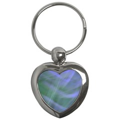 Purple Fog Key Chains (heart)  by timelessartoncanvas