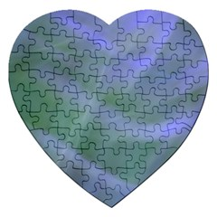 Purple Fog Jigsaw Puzzle (heart) by timelessartoncanvas