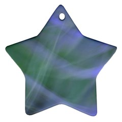 Purple Fog Star Ornament (two Sides)  by timelessartoncanvas
