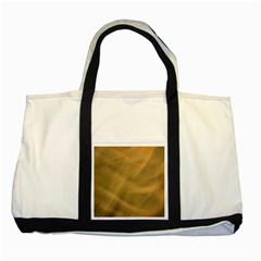 Brown Fog Two Tone Tote Bag by timelessartoncanvas