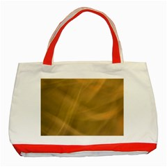 Brown Fog Classic Tote Bag (red) by timelessartoncanvas