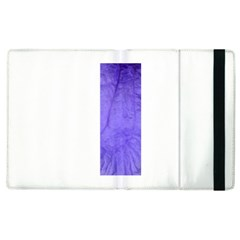 Purple Modern Leaf Apple Ipad 3/4 Flip Case by timelessartoncanvas