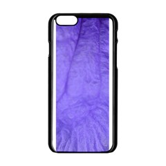 Purple Modern Leaf Apple Iphone 6/6s Black Enamel Case by timelessartoncanvas