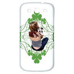 Pit Bull T Bone Lucky Puppy Samsung Galaxy S3 S Iii Classic Hardshell Back Case by ButThePitBull
