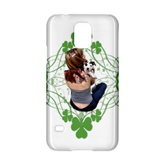 Pit Bull T Bone Lucky Puppy Samsung Galaxy S5 Hardshell Case  by ButThePitBull