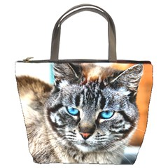Cici The Cat Bucket Handbag by hwy285
