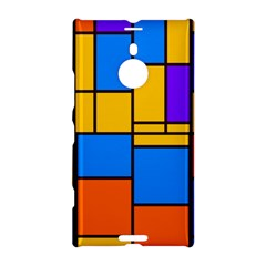 Retro colors rectangles and squares 			Nokia Lumia 1520 Hardshell Case by LalyLauraFLM