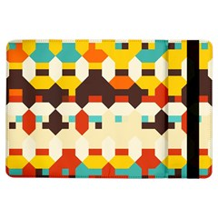 Shapes In Retro Colors apple Ipad Air Flip Case by LalyLauraFLM