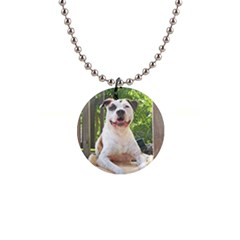 Pit Bull T Bone s Tree House Button Necklaces by ButThePitBull