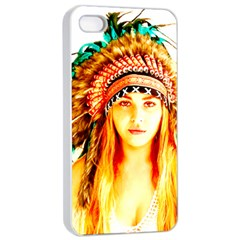 Indian 29 Apple Iphone 4/4s Seamless Case (white) by indianwarrior