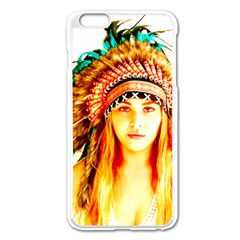 Indian 29 Apple Iphone 6 Plus/6s Plus Enamel White Case by indianwarrior