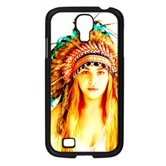 Indian 29 Samsung Galaxy S4 I9500/ I9505 Case (black) by indianwarrior