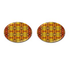 Roof555 Cufflinks (oval)