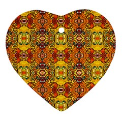 Roof555 Heart Ornament (2 Sides)