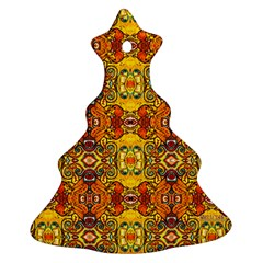 Roof555 Christmas Tree Ornament (2 Sides)