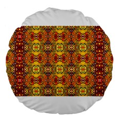 Roof555 Large 18  Premium Flano Round Cushions by MRTACPANS