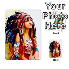 Indian 22 Multi Purpose Cards (rectangle)