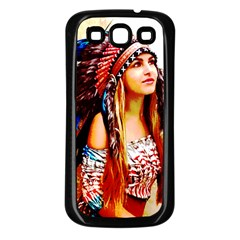 Indian 22 Samsung Galaxy S3 Back Case (black) by indianwarrior