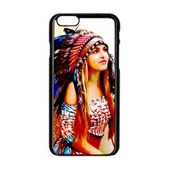 Indian 22 Apple Iphone 6/6s Black Enamel Case by indianwarrior