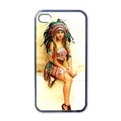 Indian 15 Apple Iphone 4 Case (black) by indianwarrior