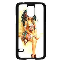 Indian 15 Samsung Galaxy S5 Case (black) by indianwarrior