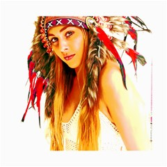 Indian 26 Canvas 16  X 20   by indianwarrior