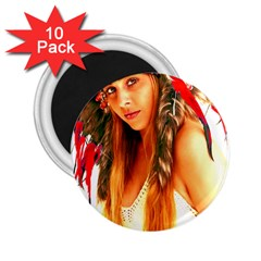 Indian 25 2 25  Magnets (10 Pack)  by indianwarrior