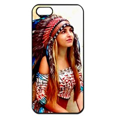 Indian 21 Apple Iphone 5 Seamless Case (black) by indianwarrior
