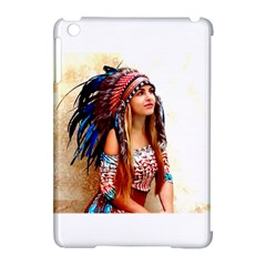 Indian 21 Apple Ipad Mini Hardshell Case (compatible With Smart Cover) by indianwarrior