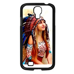 Indian 21 Samsung Galaxy S4 I9500/ I9505 Case (black) by indianwarrior