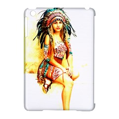 Indian 16 Apple Ipad Mini Hardshell Case (compatible With Smart Cover) by indianwarrior