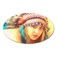 Indian 14 Oval Magnet by indianwarrior